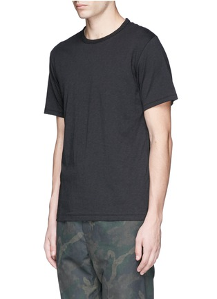 Front View - Click To Enlarge - rag & bone - 'Perfect' slub jersey T-shirt