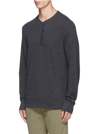 Front View - Click To Enlarge - rag & bone - 'Classic' garment wash Henley shirt