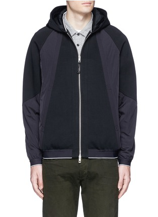rag & bone - 'Raidd' padded nylon patchwork jacket