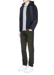 rag & bone'Raidd' padded nylon patchwork jacket
