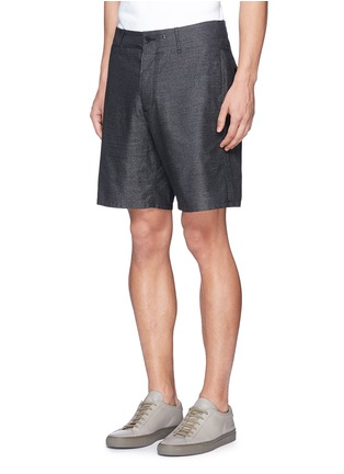 Front View - Click To Enlarge - rag & bone - 'Matthew' cotton shorts