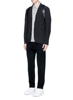 rag & boneStandard Issue' cotton blend jersey polo shirt