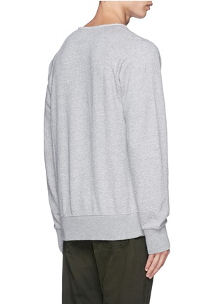 Back View - Click To Enlarge - rag & bone - Loopback terry sweatshirt