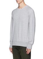 Loopback terry sweatshirt