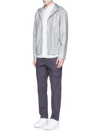 Figure View - Click To Enlarge - rag & bone - Neon dot scratched button Oxford shirt