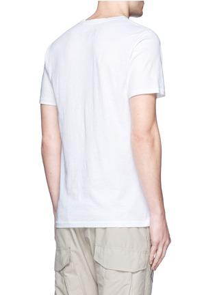 背面 - 点击放大 - rag & bone - 叶纹印花纯棉T恤