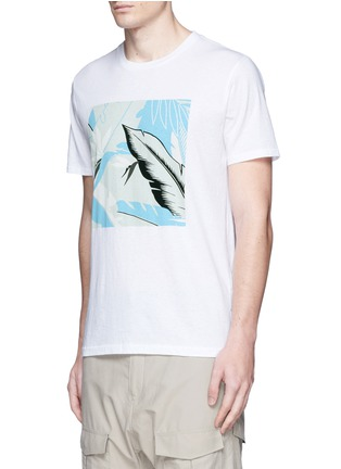 Front View - Click To Enlarge - rag & bone - Hawaiian graphic print T-shirt