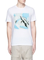 Hawaiian graphic print T-shirt