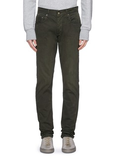rag & bone 'Fit 2' brushed cotton twill pants