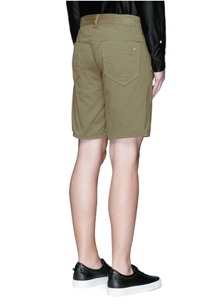 Back View - Click To Enlarge - rag & bone - Brushed cotton twill shorts