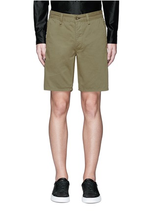 Main View - Click To Enlarge - rag & bone - Brushed cotton twill shorts