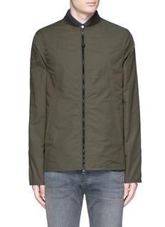 rag & bone'Depot' tech cotton jacket