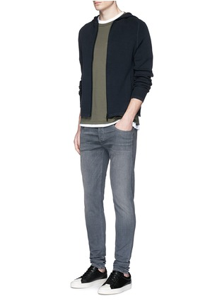 Figure View - Click To Enlarge - rag & bone - 'Trooper' contrast pocket jersey T-shirt