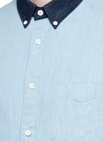 'Yokohama' washed cotton shirt