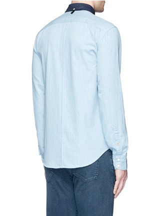 Back View - Click To Enlarge - rag & bone - 'Yokohama' washed cotton shirt