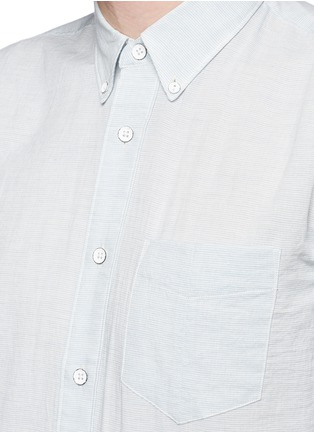Detail View - Click To Enlarge - rag & bone - Stripe cotton Oxford shirt