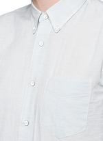 Stripe cotton Oxford shirt