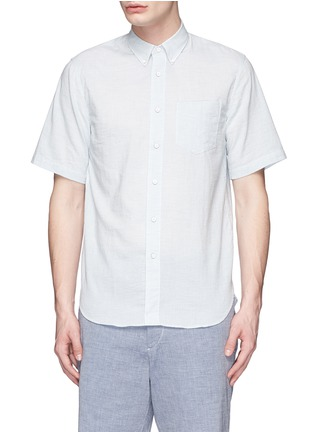 Main View - Click To Enlarge - rag & bone - Stripe cotton Oxford shirt