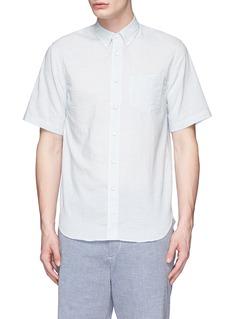 rag & boneStripe cotton Oxford shirt