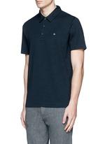'Standard Issue' cotton blend jersey polo shirt