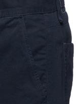 Brushed cotton twill shorts