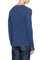 'Garrett' Merino wool Henley shirt