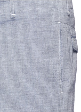 Detail View - Click To Enlarge - rag & bone - 'Matthew' woven cotton shorts