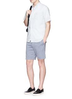 rag & bone'Matthew' woven cotton shorts