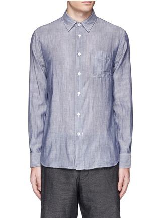 Main View - Click To Enlarge - rag & bone - 'Beach' stripe reverse cotton shirt