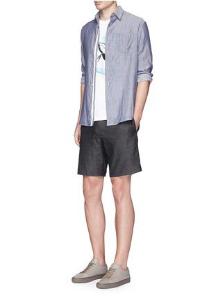 Figure View - Click To Enlarge - rag & bone - 'Beach' stripe reverse cotton shirt