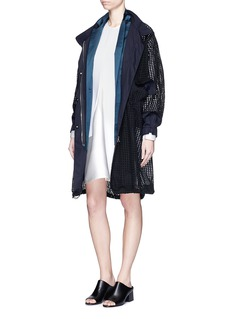 3.1 PHILLIP LIMDetachable blazer lining trompe-l'oeil parka