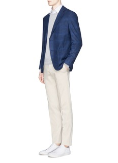 ISAIA Cotton slim fit chinos