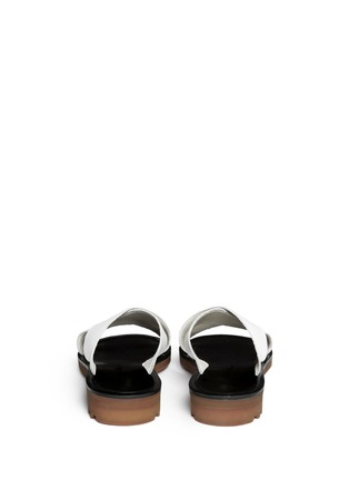Back View - Click To Enlarge - Robert Clergerie - 'Bart' crisscross strap sandals