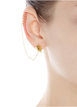 Figure View - Click To Enlarge - Joomi Lim - 'London Calling' skull earring and cuff set