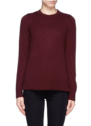 Main View - Click To Enlarge - Vince - Split side cashmere sweater
