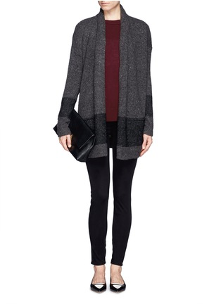 Figure View - Click To Enlarge - Vince - Split side cashmere sweater
