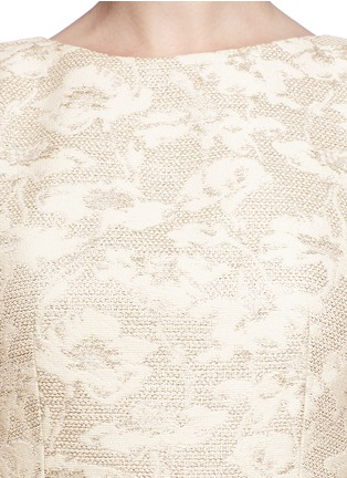 Detail View - Click To Enlarge - alice + olivia - 'Lillyanne' jacquard shift dress