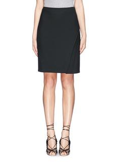 DIANE VON FURSTENBERG'Sissy' split side stretch pencil skirt