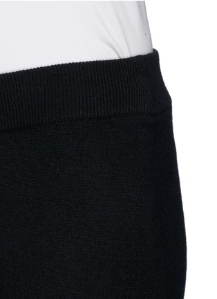 细节 - 点击放大 - THEORY - 'Hillard' cashmere sweatpants