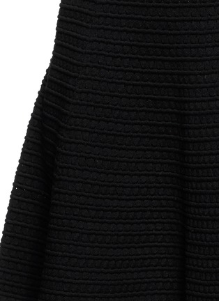 Detail View - Click To Enlarge - Theory - 'Rortie' prosecco flare skirt