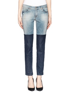 EACH X OTHERTwo tone slim fit jeans