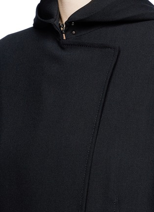 Detail View - Click To Enlarge - Acne Studios - 'Lila' hooded wool coat