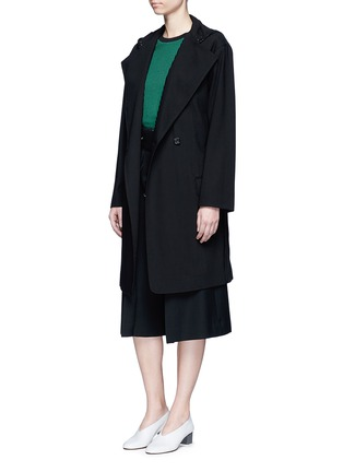 Figure View - Click To Enlarge - Acne Studios - 'Lila' hooded wool coat