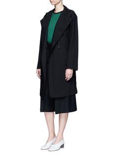 Acne Studios'Lila' hooded wool coat
