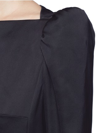 Detail View - Click To Enlarge - Marc Jacobs - Ruffle skirt peaked shoulder drop waist dress