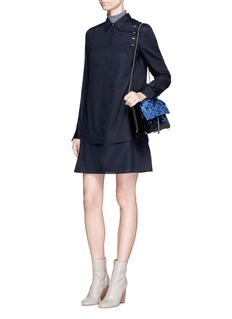 3.1 Phillip Lim Stapled shoulder cotton shirt dress