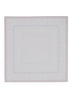 ValentinoGeometric print silk chiffon scarf