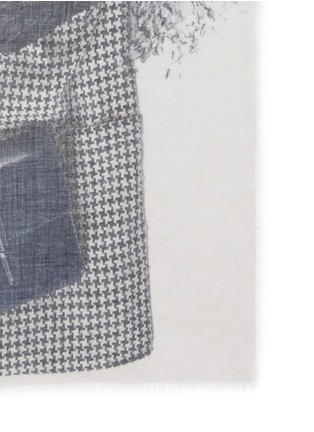 Detail View - Click To Enlarge - Franco Ferrari - 'Evans Wash' outfit print wool-cashmere scarf