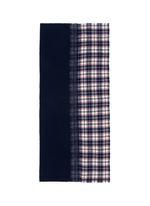 'Extreme Agugliato' check plaid gradient scarf