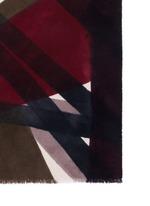 x Laboratorio Luparia 'Monferrato' print cashmere scarf